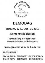 Hondenschool KV 't Houtland  - Demodag